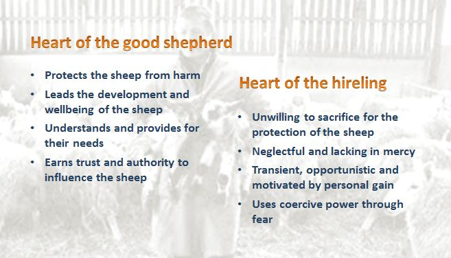 the good shepherd leader