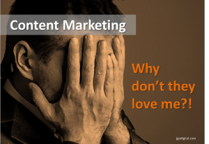 Why content marketing flops
