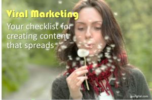 Viral marketing: An expert checklist for creating branded content that spreads