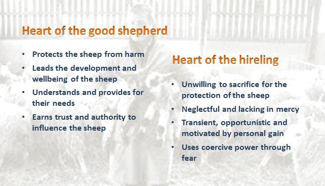 the good shepherd leader