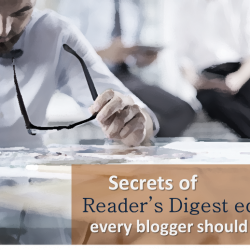 The Reader's Digest school of blogging: Hook readers fast