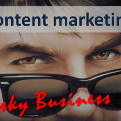 He risked his future on this content marketing strategy. Would you have done it?