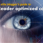Readability rules for blogging like an A-lister