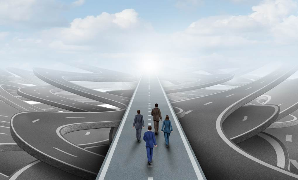 marketing-strategy-road